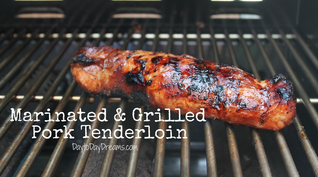 Marinated & Grilled Pork Tenderloin