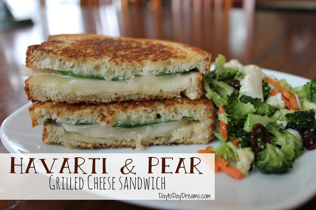 Havarti & Pear Grilled Cheese