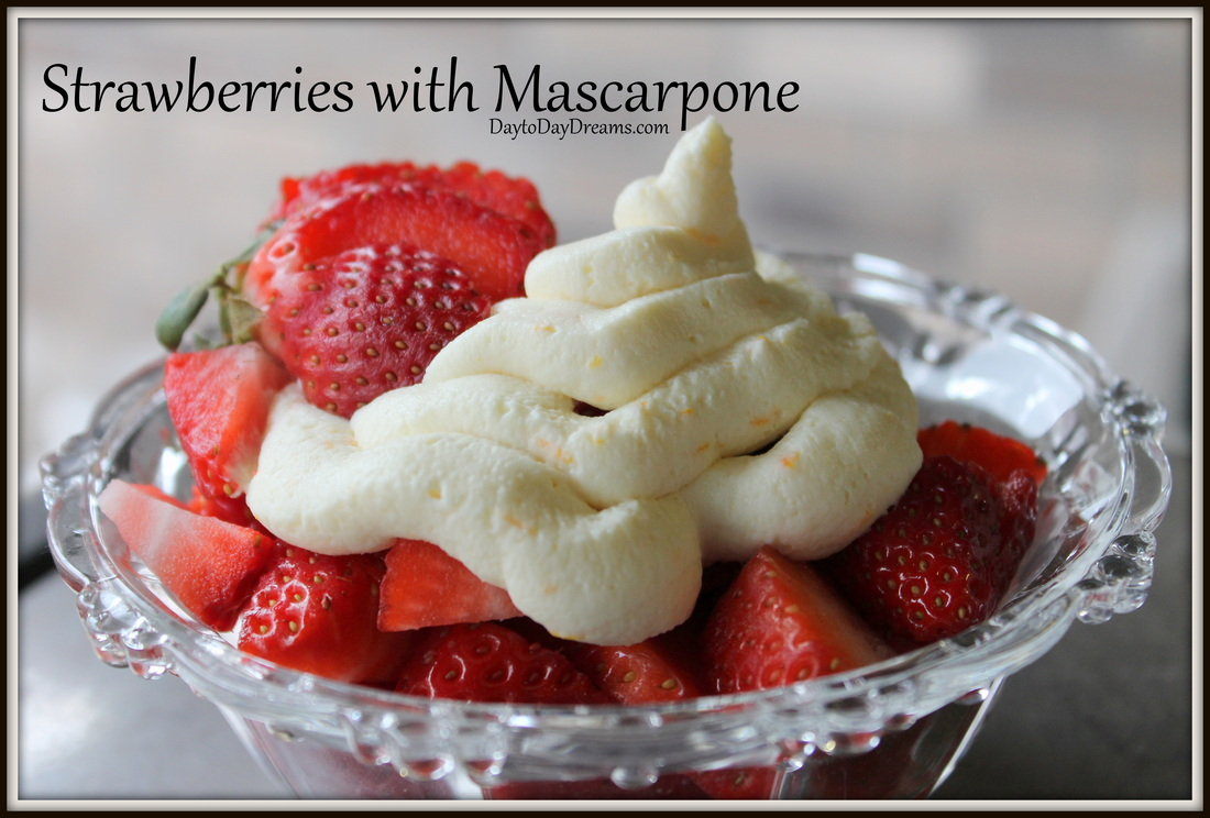 Mascarpone Stuffed Strawberries DaytotDayDreams.com