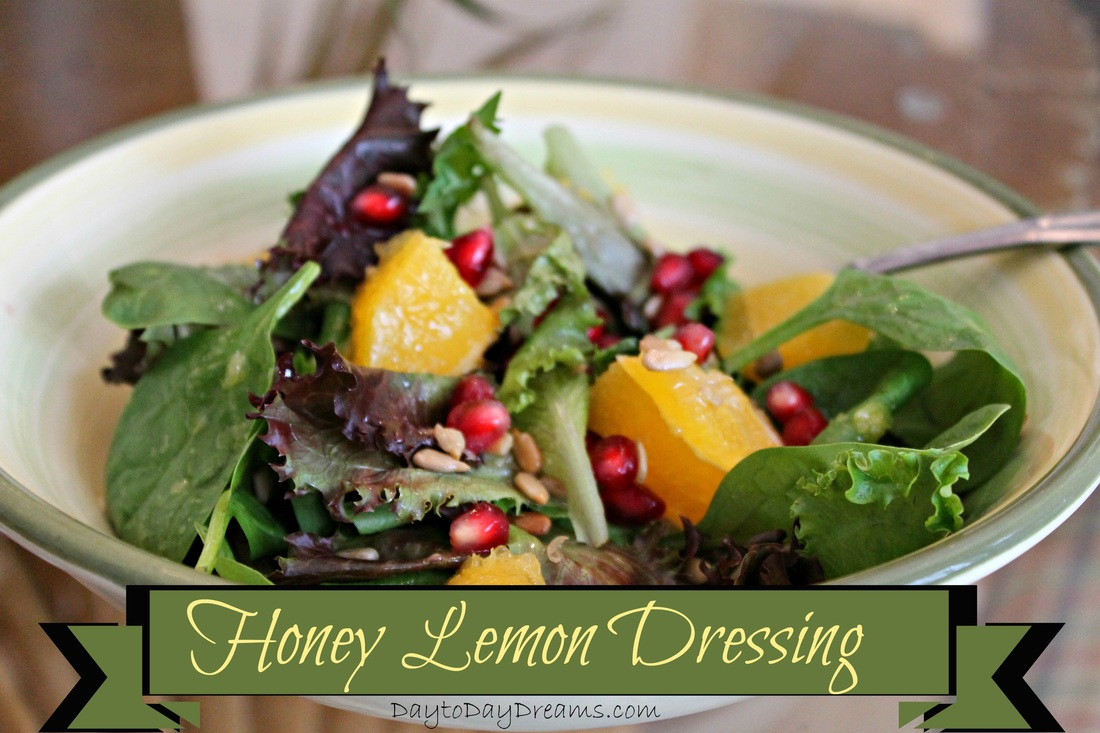 Delicious Honey Lemon Dressing