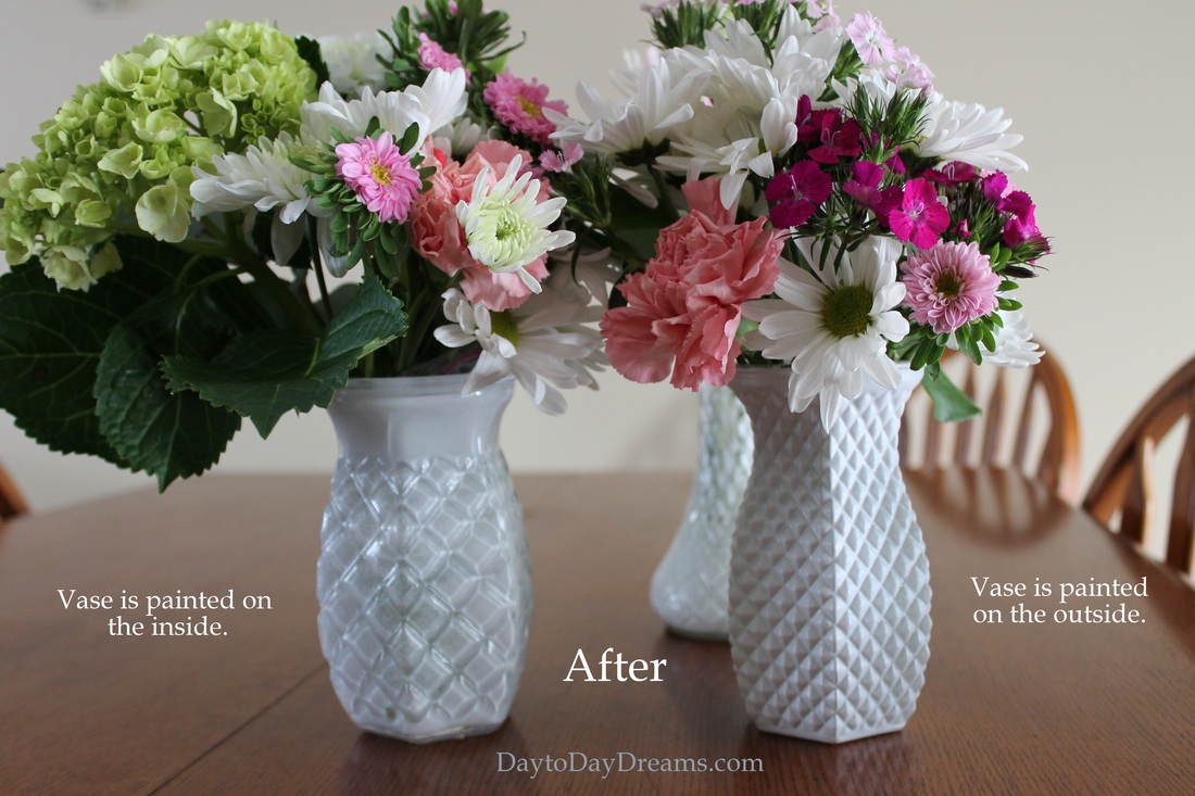 Faux Milk Glass DaytoDayDreams.com