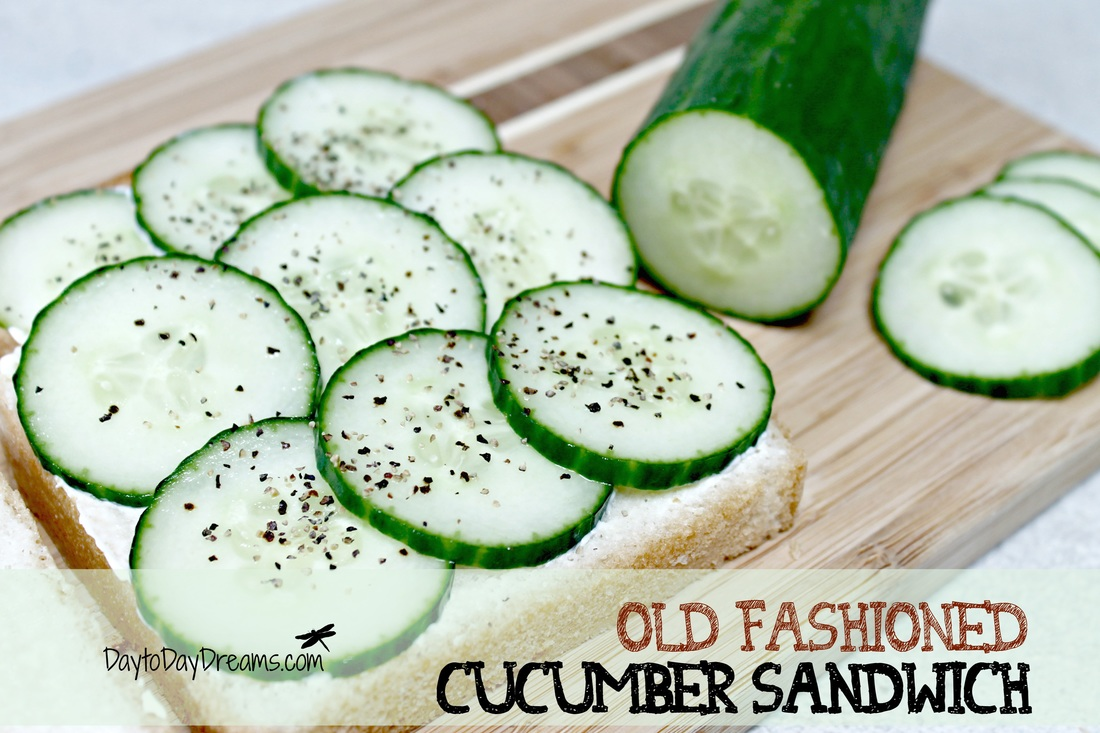 Old fashioned Cucumber Sandwich