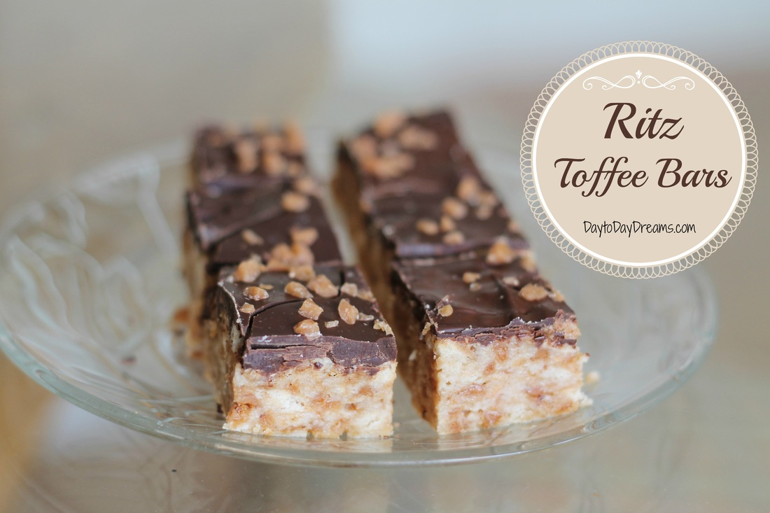 Ritz Toffee Bars - DELICIOUS!