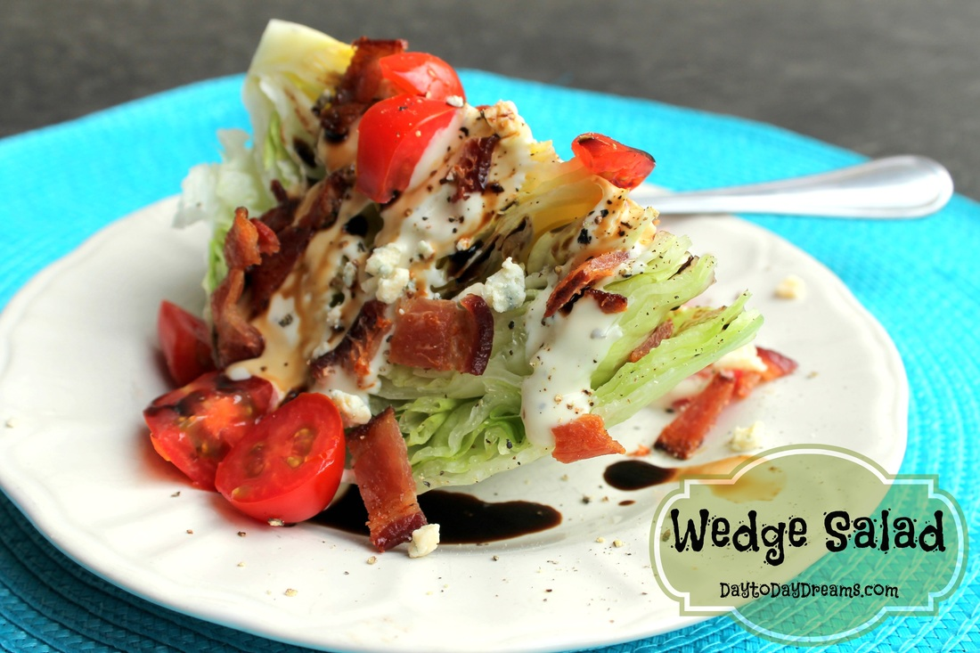 Wedge Salad DaytoDayDreams.com