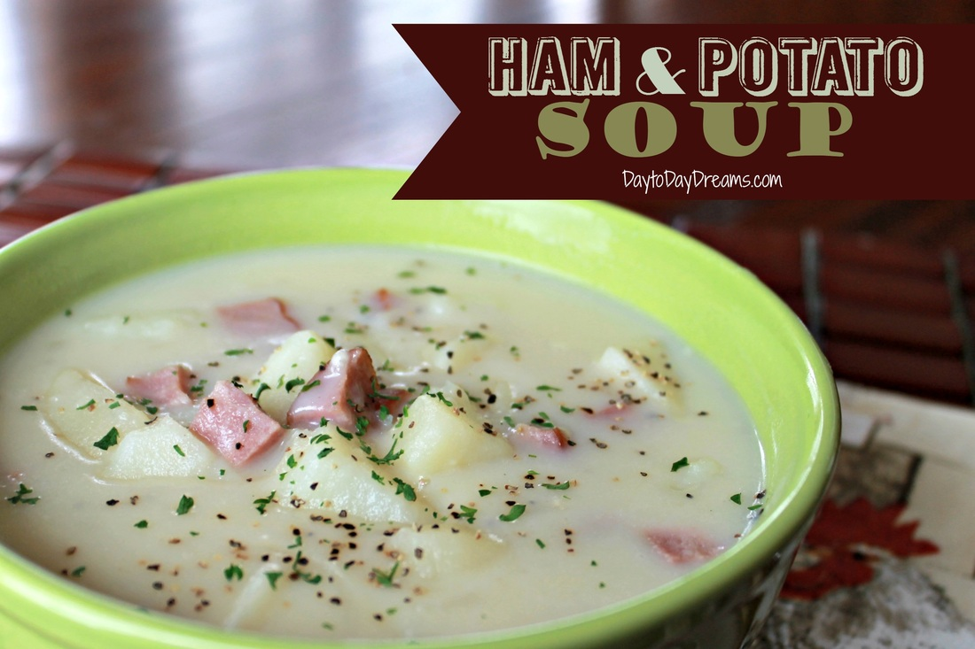 AMAZING Ham & Potato Soup